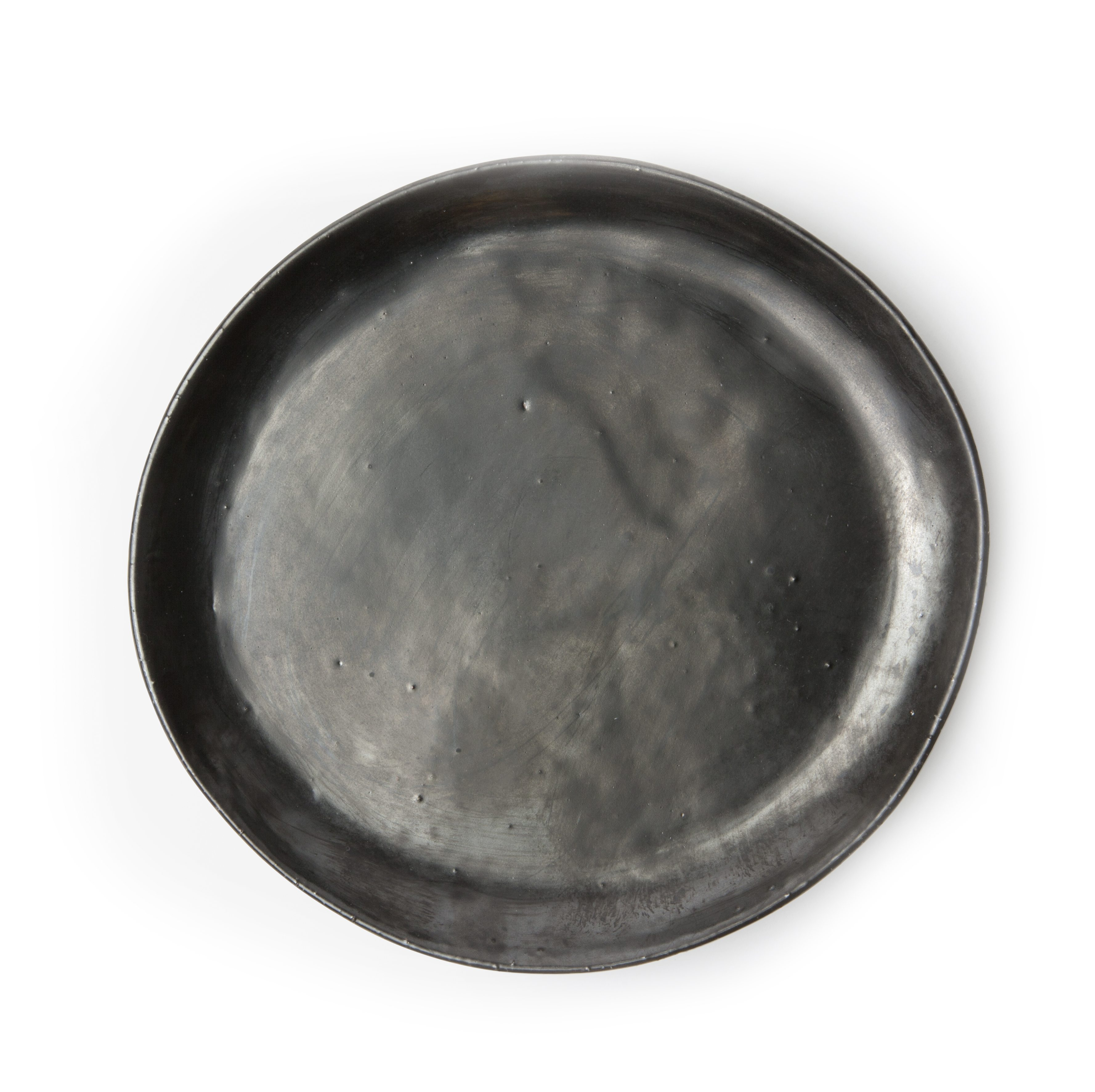 Marcus Black Glaze Dinner Plate_2_Etched